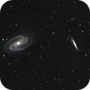 M81 and M82,                                Xplode