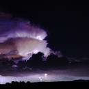 Thunderstorm, Lunar Eclipse, Marsopposition,                                Bernhard Himmer