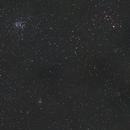Comet 46P/Wirtanen, Pleiades, and Aldebaran on 12/18/2018 (50 mm),                                JDJ