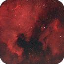 Pelican IC570 / North America Nebula NGC7000,                                christianhanke