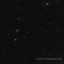 Virgo Cluster with dust bunny,                                Caspian Ray