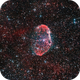 NGC 6888, crescent nebula,                                JesusM.L.