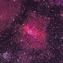 Bubble nebula (NGC7635) and M52,                                Sasho Panov