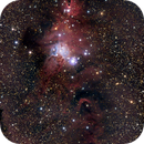 Cone nebula and Christmas Tree cluster,                                JanD