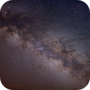 Milky Way with Saturn,                                rkayakr