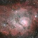 M8 the Lagoon Nebula,                                Bret Waddington