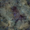 IC1396 region in HSO palette,                                Stefano Zamblera