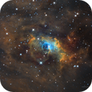 Bubble Nebula (NGC7635) NB in SHO palette,                                Jose Carballada