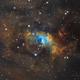 Bubble Nebula (NGC7635) NB in SHO palette,                                Jose Carballada