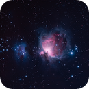 M42 Orion Nebula & NGC1977 Running Man,                                Derek Ford