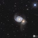 M51 LRGB,                                Chris R White