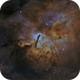NGC6820 - Spires of Creation,                                Jason Guenzel