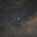 Lagoon Nebula Region,                                osanyin