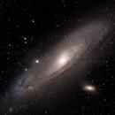 M31 Andromeda 6 Panel Mosaic,                                llolson1