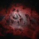 lagoon Nebula whit lx200,                                Astronomono