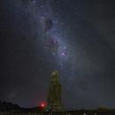 Moai with Milky way,                                Jan Veleba