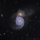 M51 - Deep Sky West Remote Observatory,                                Deep Sky West (Ll...