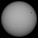 Sun in whitelight  22nd November  2013  ,  10:15 GMT,                                steveward53