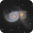 M51 in LRGB-HA - High definition,                                Vincent F
