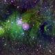 Cone Nebula in Hubble palette.,                                George C. Lutch