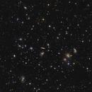 Zoom in the Abell 2151 - Hercules  Cluster around 200 Galaxies,                                  Arnaud Peel