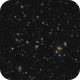 Zoom in the Abell 2151 - Hercules  Cluster around 200 Galaxies,                                Arnaud Peel