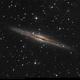 NGC 891 with ASI 294 MC Pro,                                Jeffbax Velocicaptor
