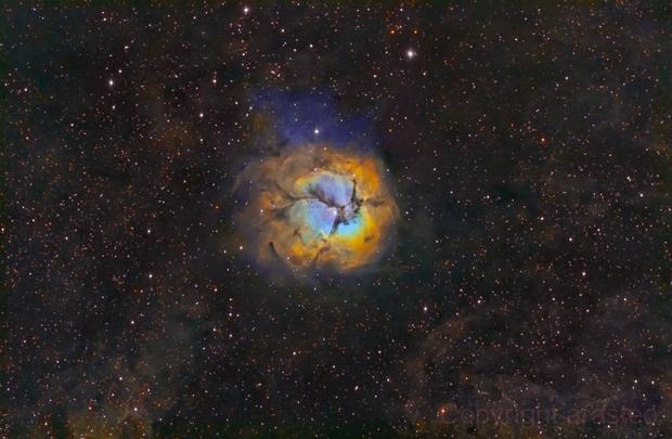 M20 Trifid Nebula,                                Theodore Arampatz...