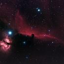 Horsehead Nebula and Flame Nebula HaGB,                                Jason Doyle Sr
