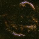 Eastern and Western Veil Nebula,                                FantomoFantomof