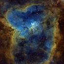 IC 1805 - Heart Nebulae,                                Alexandre Itic