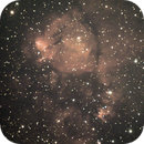 Part of the Heart Nebula,                                Cottage Astrophotography