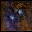 Messier 78, NGC 2068,                                floreone