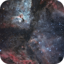 NGC 3372 - Keyhole Nebula in LRGB from skies Bortle 9,                                Ariel Cappelletti