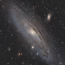 M31 - 6 Panel Mosaic,                                TriStar Observatory