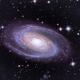 M 81 - Bode's Galaxy,                                w4sm
