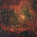 IC1805 - The Heart Nebula (Wide Field),                                Gary Sizer
