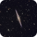 NGC891 Silver Sliver Galaxy,                                Mark Eby