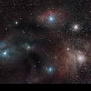 Rho Ophiuchi cloud complex,                                Mateus