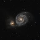 M51 - Whirlpool Galaxy,                                Bernd Flachsbart