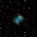 Dumbbell nebula (M27),                                raulgh