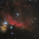 B33 and IC434 Nebula,                                Andrea Pistocchini - pisto92