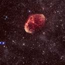 Crescent Nebula,                                Mike