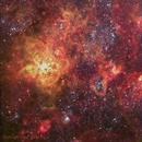 Tarantula Nebula in RGB, OIII and Ha,                                Geoff