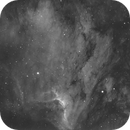 Pelican Nebula - IC 5070 Ha,                                Delberson
