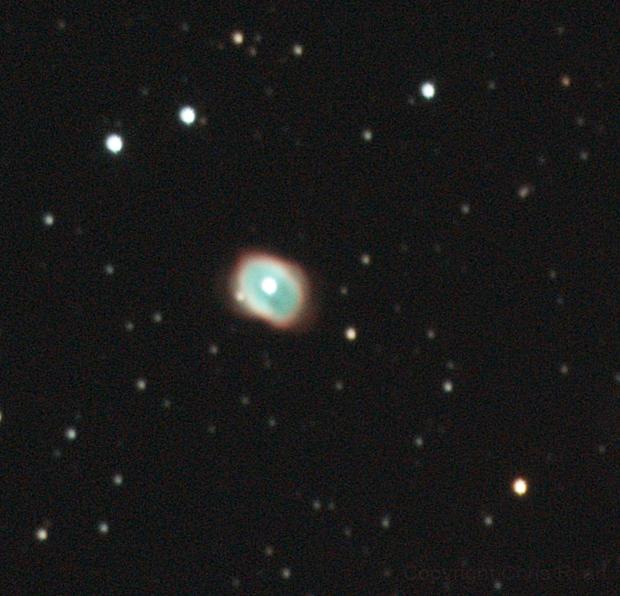 NGC 3132 - Eight-burst planetary nebula,                                Chris Ryan