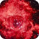 Rosette Nebula (Color Enhanced),                                granvilletl1