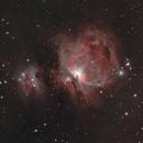 M42 and Running Man Nebula,                                Aaron