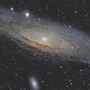 M31 Andromeda Galaxy,                                Vladimir Gushchin
