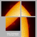 Sun - Ha - 10:55UT- 15 September 2019 - Prominences,                                Roberto Botero